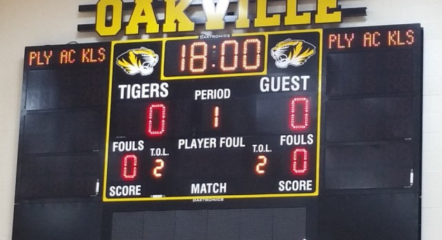 New Scoreboards on OHS Campus