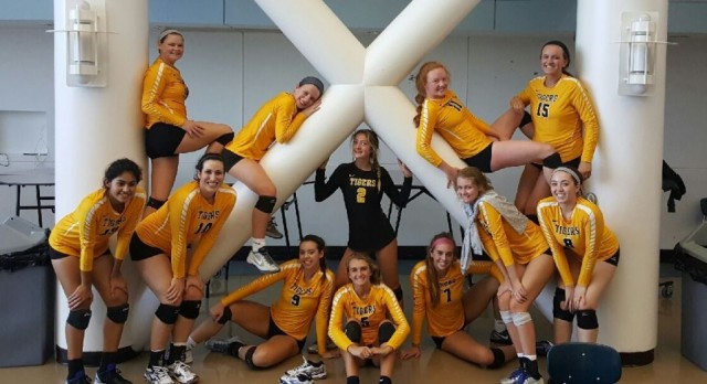 Volleyball Team Brings Home the Hardware