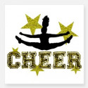 cheerleader_gold_and_black_sticker