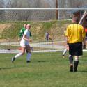 Girls Spring 2017 Varsity Soccer vs Alton, ILL 4/8/17