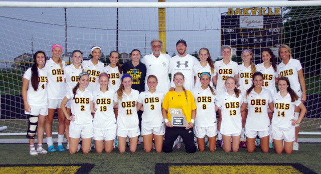 Spring Soccer District Champions