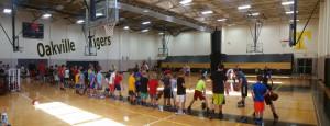 LIttle Boys Basketball Camp