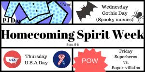 Homecoming Spirit Week (2)