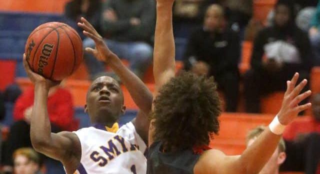 Smyrna Boys Basketball falls to Stewarts Creek 59-31