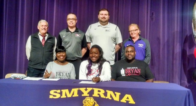 Hughes Signs with Bryan College
