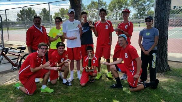 Boys Tennis takes 1st!