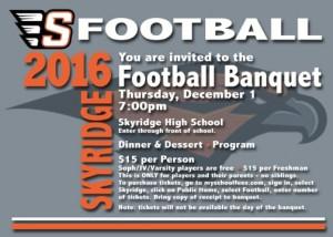 Skyridge Football Banquet 2016