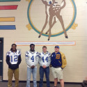 "Stags visiting ""Little Stags"""