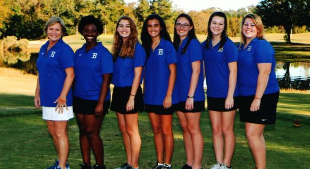 Girls Golf Meeting