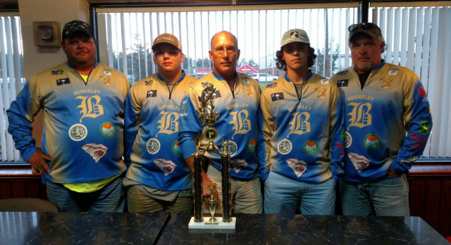 Berkeley Bass Club Wins SC Student Angler Federation Tournament Trail