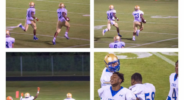 Stags overcome slow start; roll past Hanahan, 44-31