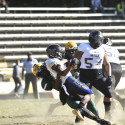Varsity Football Action vs. Dr. Henry A. Wise HS