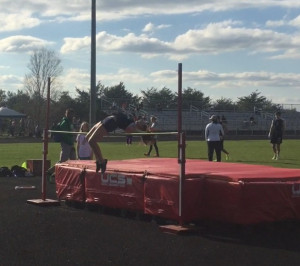 Jordan Black clears 4-4 on high jump