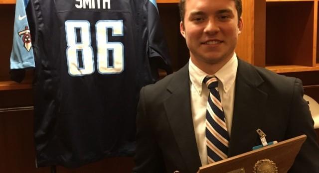 Jacob Smith is Siegel's First Mr. Football Winner