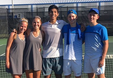 Siegel Tennis Advances to State in Individuals