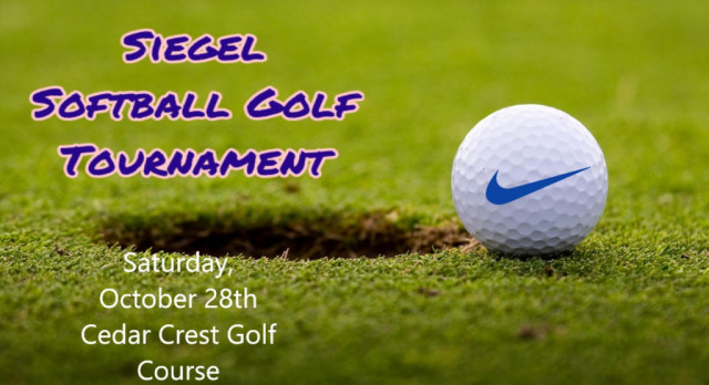 Softball Golf Tournament Announced