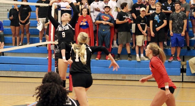 Volleyball to Host South Forsyth in State Semifinals