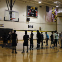 Girls' Basketball Community Service Basketball Clinic