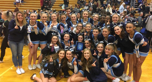 Cheer Takes FIRST Place At USA Competition