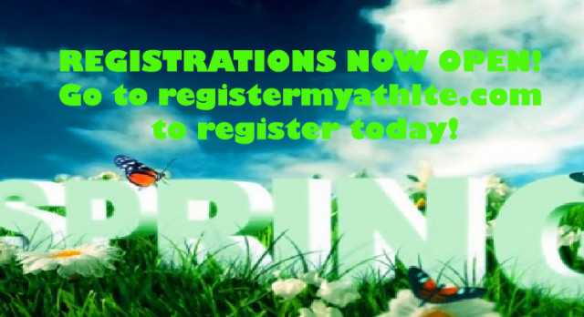 Spring Registration Now Open for All Teams