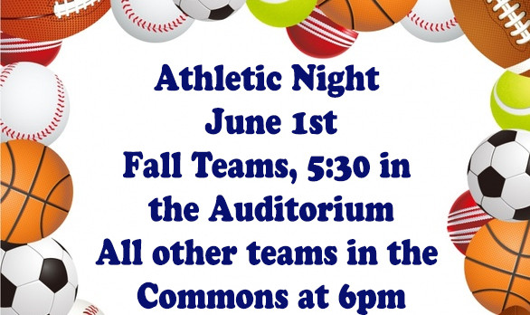 2017-18  Athletic Information Meeting!