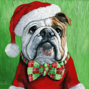 english-bulldog-santa-dog-painting-linda-apple