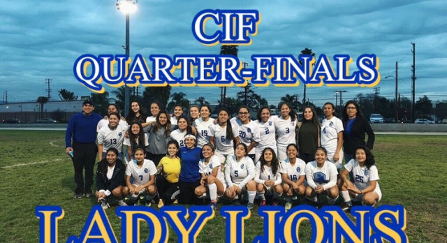 GIRLS VARSITY SOCCER HEAD TO CIFSS DIV 7 QUARTERFINALS