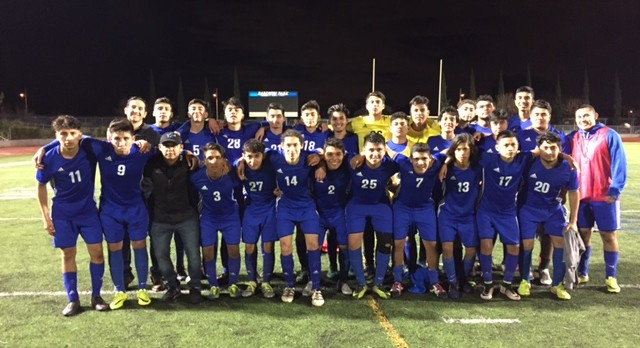 BOYS SOCCER ADVANCE TO CIFSS DIV 5 QUARTERFINALS