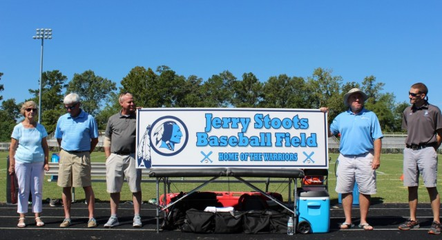 Baseball Field Named For Coach Stoots