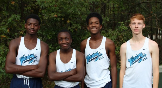Boys Cross Country Team takes fifth at region meet
