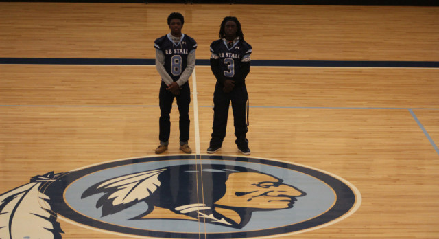 Two Football Warriors Selected to All Region Team