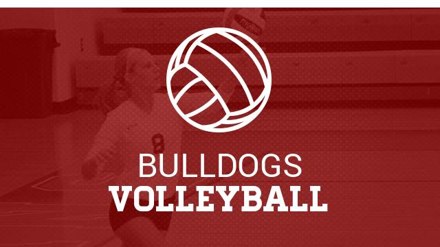 Lady Bulldogs win District volleyball title