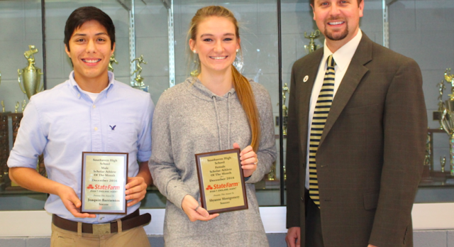 State Farm Scholar Athletes – December