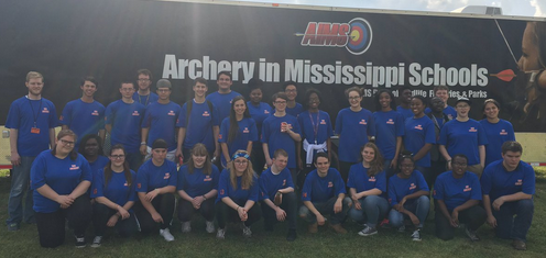 Top Ten Finish for Archery