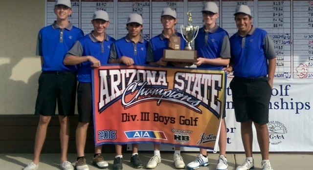 GOLF DOMINATES FOR FOURTH STRAIGHT STATE TITLE