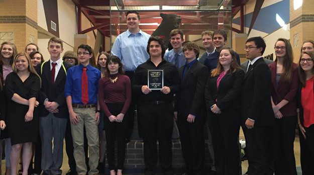 Forensics Team Qualifies 6 for State