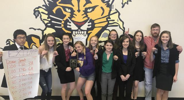 Forensics Team Wins Haven Tournament