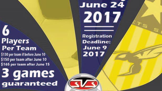 3rd Annual Valley Center 3v3 Soccer Tournament
