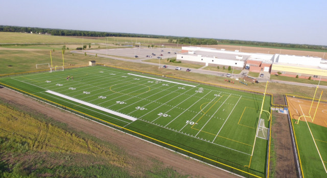 Turf Practice Fields Completed
