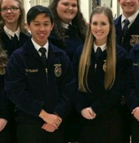 Two FFA members Awarded Thousands of Dollars in Scholarships