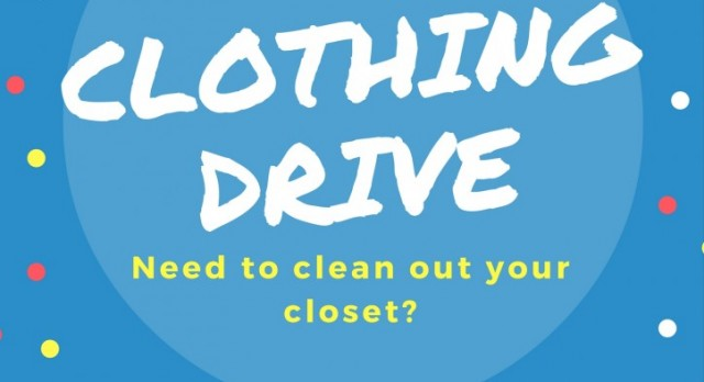 Donations Needed for the GHS Clothing Drive