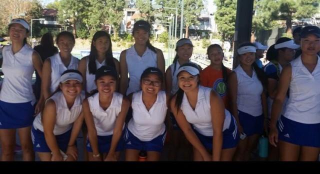 Girls Tennis CIF Runner-ups