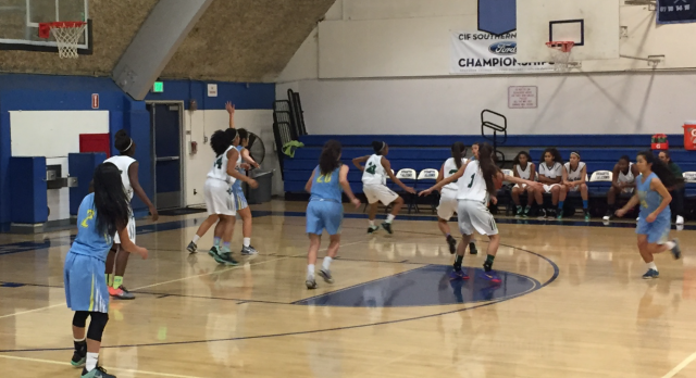 Walnut High School Girls Varsity Basketball beat Banning – Duarte Tournament 63-27