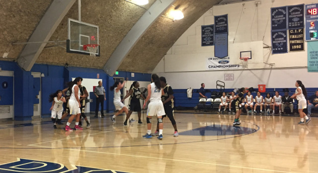 Walnut High School Girls Varsity Basketball beat Knight – Duarte Tournament 58-32
