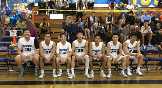 Walnut High School Boys Varsity Basketball Finish 2nd in Hacienda League at 8-2