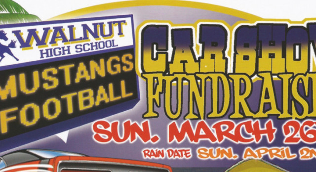 Football Car Show Fundraiser Sunday