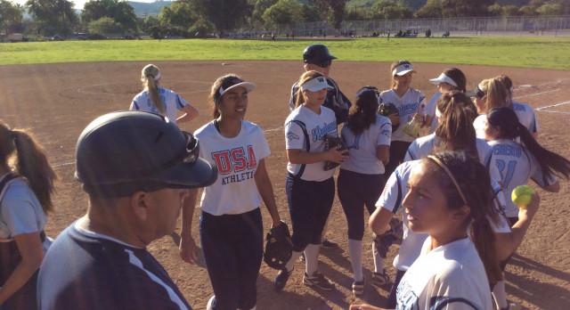 Walnut High School Varsity Softball beat Ganesha High School 21-0