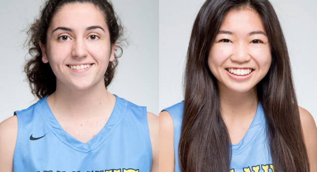 Walnut's Yasmin Dabbous and Jenna Pitpit on All-Area Basketball Team