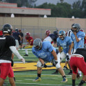 Varsity Football Scrimmage at Wilson 2017
