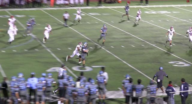 Walnut High School Varsity Football falls to Covina High School 49-14